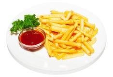 French-fried potatoes Stock Photo