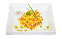 French-fried potatoes Royalty Free Stock Photos