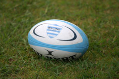 French friendly rugby match USAP vs Racing Metro Royalty Free Stock Photography