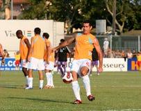 French friendly soccer match OM vs TFC Royalty Free Stock Image