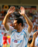 French friendly soccer match OM vs TFC Royalty Free Stock Images