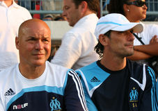 French friendly soccer match OM vs TFC Stock Images
