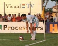 French friendly soccer match OM vs TFC Stock Image