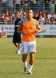 French friendly soccer match OM vs TFC. Olympique de Marseille's Benoit Cheyrou during the french friendly soccer match, Olympique de Marseille vs Toulouse Stock Photo