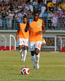 French friendly soccer match OM vs TFC. Olympique de Marseille's Mamadou Niang during the french friendly soccer match, Olympique de Marseille vs Toulouse Stock Photo