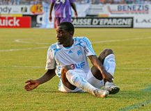 French friendly soccer match OM vs TFC. Olympique de Marseille's Mamadou Niang during the french friendly soccer match, Olympique de Marseille vs Toulouse Stock Images