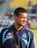 French friendly soccer match OM vs TFC. Olympique de Marseille's Karim Ziani during the french friendly soccer match, Olympique de Marseille vs Toulouse Football Royalty Free Stock Images