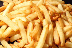 French Fries. Prepared and cooked potatos chips Stock Photography