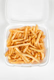 French Fries. A Batch of French Fries stock image