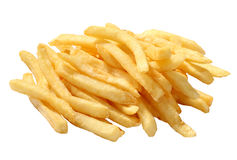 French fries. On white background Stock Images