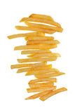 French Fries. Stack of delicious french fries Royalty Free Stock Photo