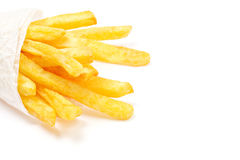 French Fries. On White Stock Images