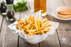 Free French Fries Royalty Free Stock Photography - 63114197
