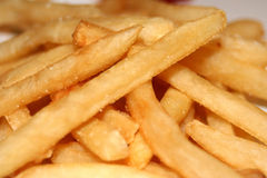 French Fries. A close-up of a pile of french fries Royalty Free Stock Photography