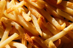 French fries. Texture can be used as background Stock Photo