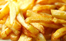 French fries background Royalty Free Stock Photos