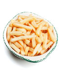 French fries in a bowl Stock Image