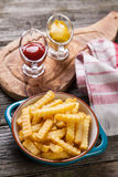 French fries Stock Photos
