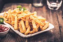 French fries in a bowl Royalty Free Stock Image