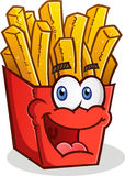 French Fries Cartoon Character Royalty Free Stock Photos