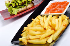 French fries Stock Image