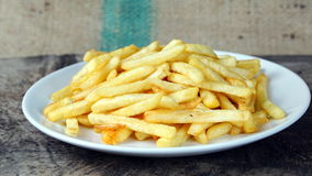 French fries, chips or finger chips Royalty Free Stock Photography