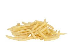 French fries with clipping path Royalty Free Stock Images