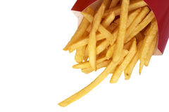 French fries close up Stock Image