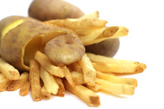 French fries concept Royalty Free Stock Image
