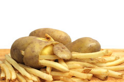 French fries concept Stock Photography