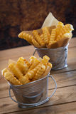 French Fries in a Diner Stock Images