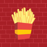 French fries fasfood Royalty Free Stock Image