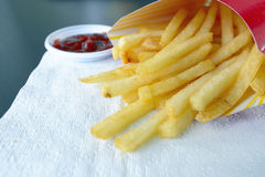 French Fries fast food Royalty Free Stock Photos