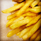 French fries fast food Stock Images