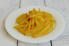 French fries, fast food Royalty Free Stock Image