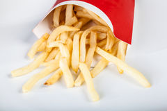 French fries fast food Royalty Free Stock Photography