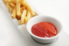 French fries food Royalty Free Stock Photo