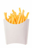 French Fries In A Paper Wrapper Royalty Free Stock Image