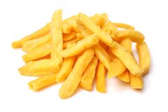 Free French Fries In White Box Royalty Free Stock Photos - 112717118