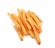 French fries isolated Stock Images