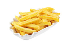 French fries isolated Stock Photo