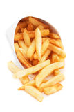 French fries isolated on white Stock Image
