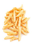 French fries isolated on white Royalty Free Stock Images