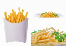French fries pictures Royalty Free Stock Image
