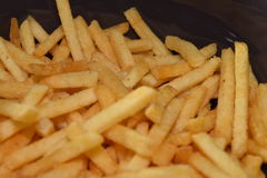 French fries. A pile of appetizing french fries Royalty Free Stock Image