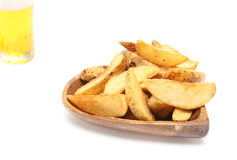 French fries in a plate Stock Images