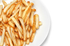 French fries on plate Stock Photography