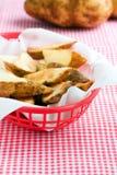 French fries potato Stock Photos
