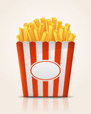 French fries potato Stock Images