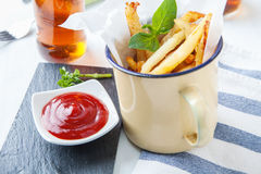 French fries potato Stock Photo